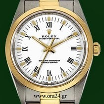 Rolex Oyster Perpetual 14203M 34mm 18k Gold Steel