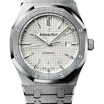 Audemars Piguet Royal Oak Stainless Steel White Dial 15400ST.O...