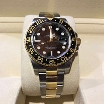 Rolex Gmt-Master II Gold and Steel