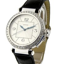 Cartier WJ120251 Pasha 42 in White Gold with Diamond Bezel -...