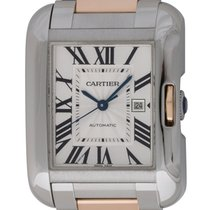 Cartier : Tank Anglaise Medium  :  W5310007 :  18k Pink Gold...