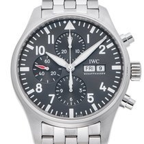 IWC Pilot Chronograph Spitfire Automatic Slate-coloured Dial...
