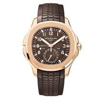 Patek Philippe Aquanaut Travel Time Rose Gold Men's Watch