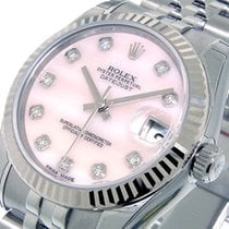 Rolex 178274 Datejust 31 Mm Mid Size Steel Pink Mother Of...