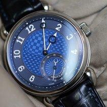Voutilainen Vingt-8 white gold blue dial piece unique  full set