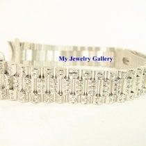 勞力士 (Rolex) Aftermarket 18k WG Diamond Bracelet Band for Ladie...