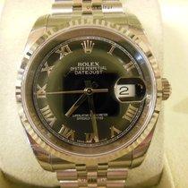 Rolex Datejust, Ref. 116234 - schwarz römisch Zifferblatt/Jubi...