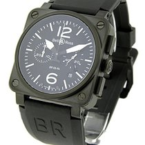 Bell & Ross BR-03-94-CBR BR03-94 Carbon Chronograph in PVD...