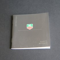 TAG Heuer Instructions Quartz Watches Booklet