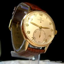 Omega Museum Grade Omega Red Star Cal;30T2 18ct Rose Gold 1945