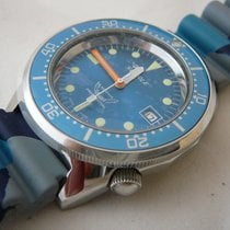 Squale Professional OCEAN 500mt -polished case, camouflage strap