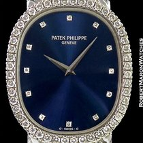 Patek Philippe Ellipse 3748/97 18k White Gold Diamond Bezel