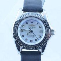 Breitling Callistino Damen Uhr Stahl/stahl Perlmutt Mit...