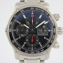 Ebel 1911 Discovery Chronograph #A3201 Box, Papiere