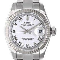 Rolex Ladies Rolex Watch Datejust 18k White Gold &...