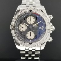 Breitling Evolution 44mm A13356 Chrono Stainless Steel Factory...