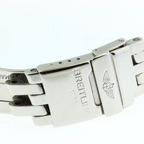 Breitling Chronomat Crosswind Faltschliesse Stahl 18mm Buckle...