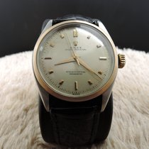Rolex Bubbleback 6085 Champagne Dial with Rose Gold Bezel and...