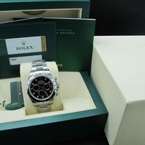 Rolex [NEW] 2016 ROLEX DAYTONA 116520 STAINLESS STEEL BLACK...