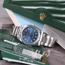 Rolex Oyster Perpetual Air-King Chronometer Blue Dial