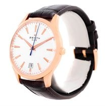 Zenith Captain Central Second 18k Rose Gold Watch 18.2020.670...