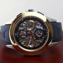 Perrelet Chronograph Skeleton GMT - A230/1