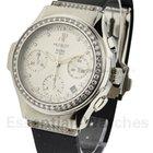 Hublot Elegant Chronograph with Silver Diamond Dial