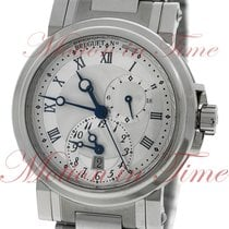 Breguet Marine Automatic Dual Time, Silver Dial - Stainless...