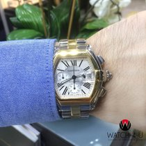 Cartier Roadster Chronograph XL 18k Yellow-Gold 2618 Automatic