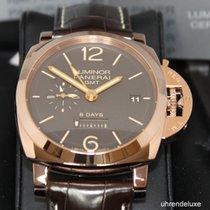 파네라이 (Panerai) Luminor 1950 8 Days GMT Oro Rosso 576, Nr 001/300