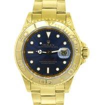 롤렉스 (Rolex) 16628 Yachtmaster 18k  Gold Blue Dial Watch