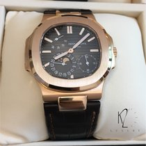 Patek Philippe 5712R Nautilus Power Reserve Moonphase Rose gold