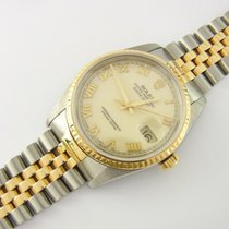 Rolex Datejust 36 Mm Ref 16233 Edelstahl/gold Two-tone Jubilée