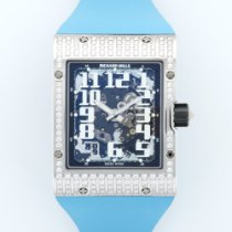 Richard Mille White Gold Extra-Flat Diamond Watch Ref. RM016