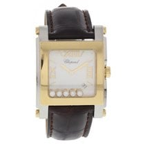 Chopard Happy Sport XL 18k/ SS Floating Diamonds 8447