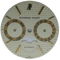 Audemars Piguet Mens  Royal Oak Moon Automatic White Dial 26mm...
