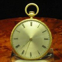 Robert Brandt & Comp 18kt 750 Gold Open Face Taschenuhr...