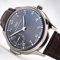 IWC Portuguese Minute Repeater 18kt White Gold, Slate Grey Dial