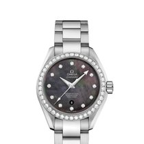 Omega 23115342057001 Seamaster Pearl Diamonds Ladies Watch