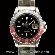 Rolex GMT-MASTER unpolished OCC dial box and papers