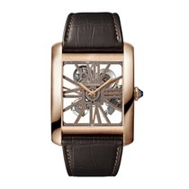 Cartier Tank Anglaise Manual Mens Watch Ref W5310040