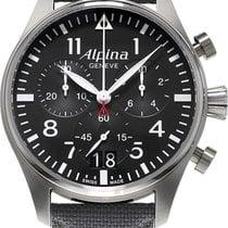 Alpina Geneve Startimer Pilot AL-372B4S6 Herrenchronograph...
