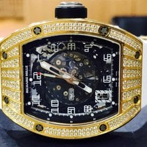 Richard Mille RM 010 Rose Gold Factory Richard Mille Diamonds