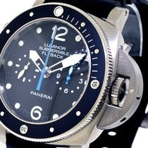 Panerai Unworn  Pam 615 Luminor Submersible 1950 3 Days 47 Mm...