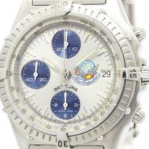 Breitling Chronomat Blue Impulse Steel Automatic Watch A13048...
