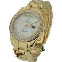 Rolex Unworn 18948_mop_rom Mens Yellow Gold Masterpiece with...