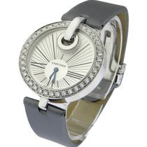 Cartier WG600012 Captive de Cartier with Diamond Bezel - White...