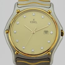 Ebel CLASSIC WAVE DIAMONDS BEZEL MEN