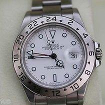 Rolex Mens Watch Explorer Ii Steel 12 Hour Hand Year 2000...