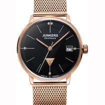 Junkers 'bauhaus Lady' Swiss Quartz Watch Rgold Case...
